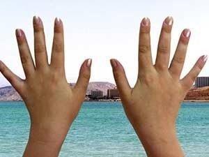 Лечебный эффект от лечения грязью Мёртвого моря