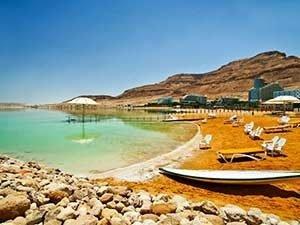 Курорт на Мёртвом море Эйн Бокек